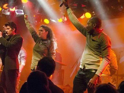 Die Sieger - Fight Rap Camp - auf der Bühne.