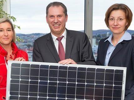 Das neue Bürger-Solarkraftwerk kann 55 Haushalte versorgen.
