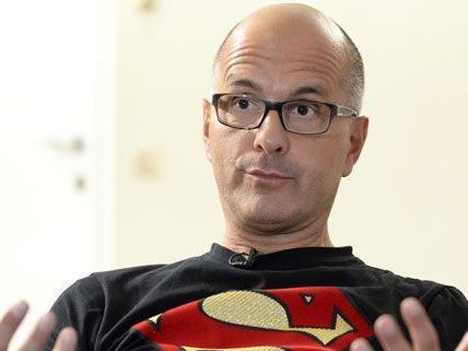 Christoph Maria Herbst beim Interview.