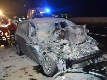 Der Wiener wurde nach dem Unfall verletzt ins Spital gebracht.