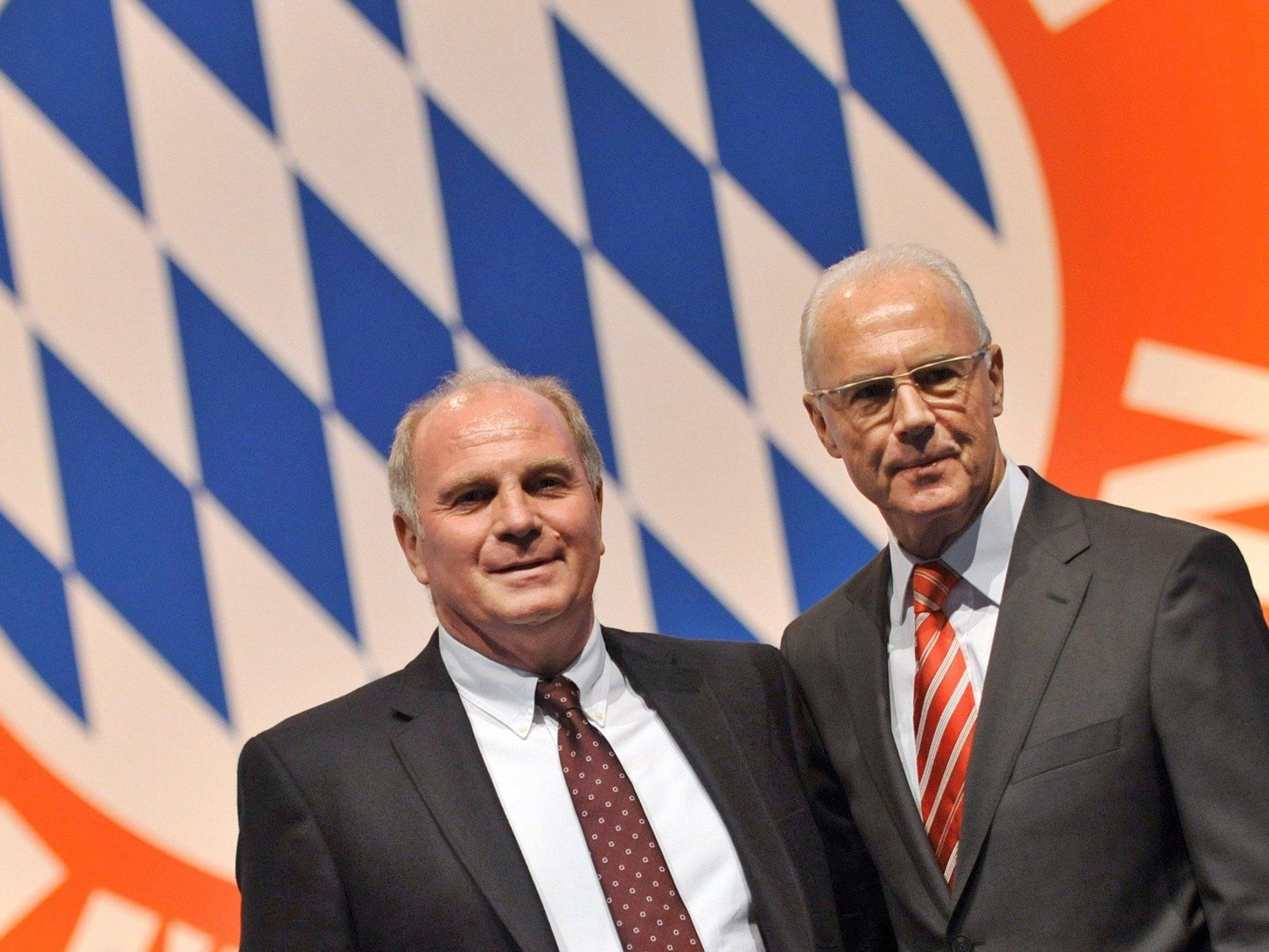 Beckenbauer sieht keine Führungskrise beim Champions-League-Sieger.