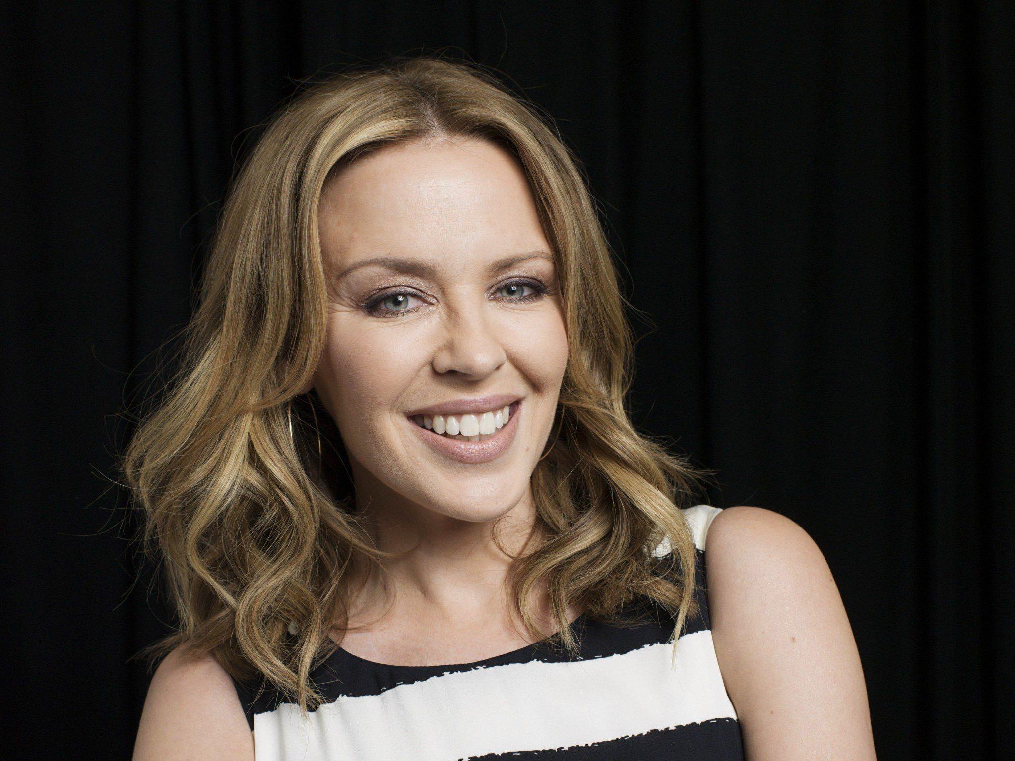 Kylie Minogue kommt live nach Wien