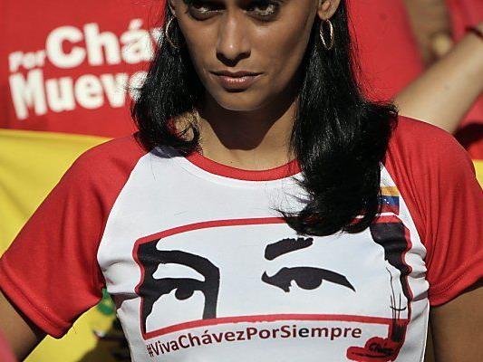 Hugo Chavez noch immer im Herzen der Bevölkerung
