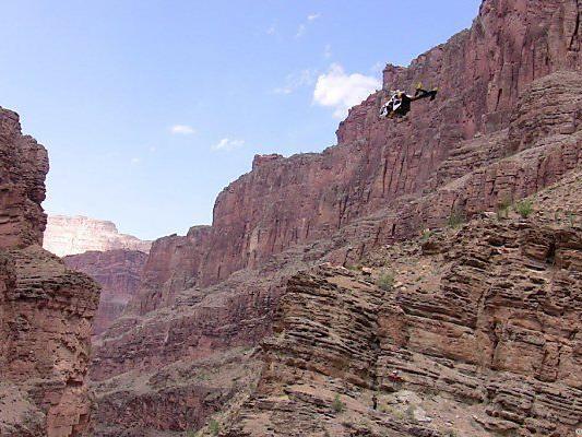Unglück im Grand Canyon