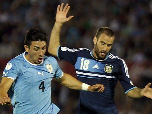 Uruguay eroberte im Oktober 2013 den Titel