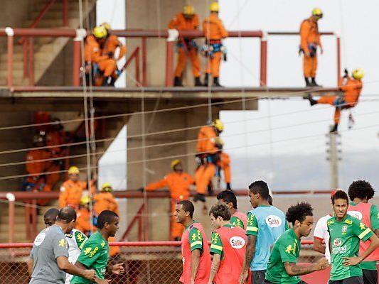 Sportlich ist Brasilien alles andere als Baustelle
