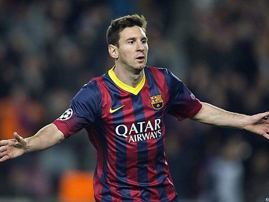 Messi räumte im Vorjahr ab