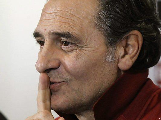 Prandelli ist seit 2010 Italiens Fußball-Nationaltrainer