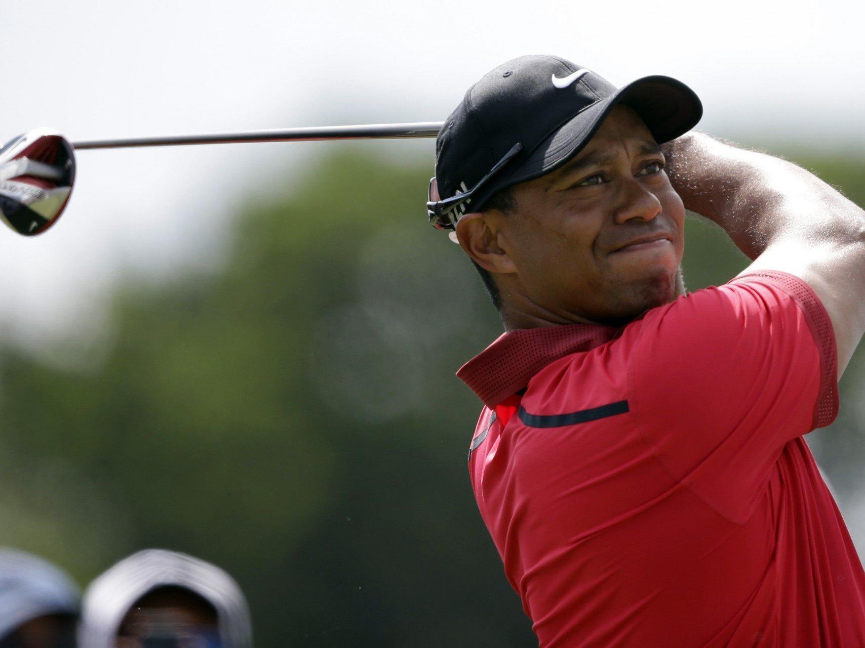 Tiger Woods soll Wiener Ball an den Kopf geschossen haben