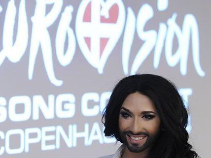 Conchita Wurst startet am 8. Mai für Österreich beim Eurovision Song Contest.