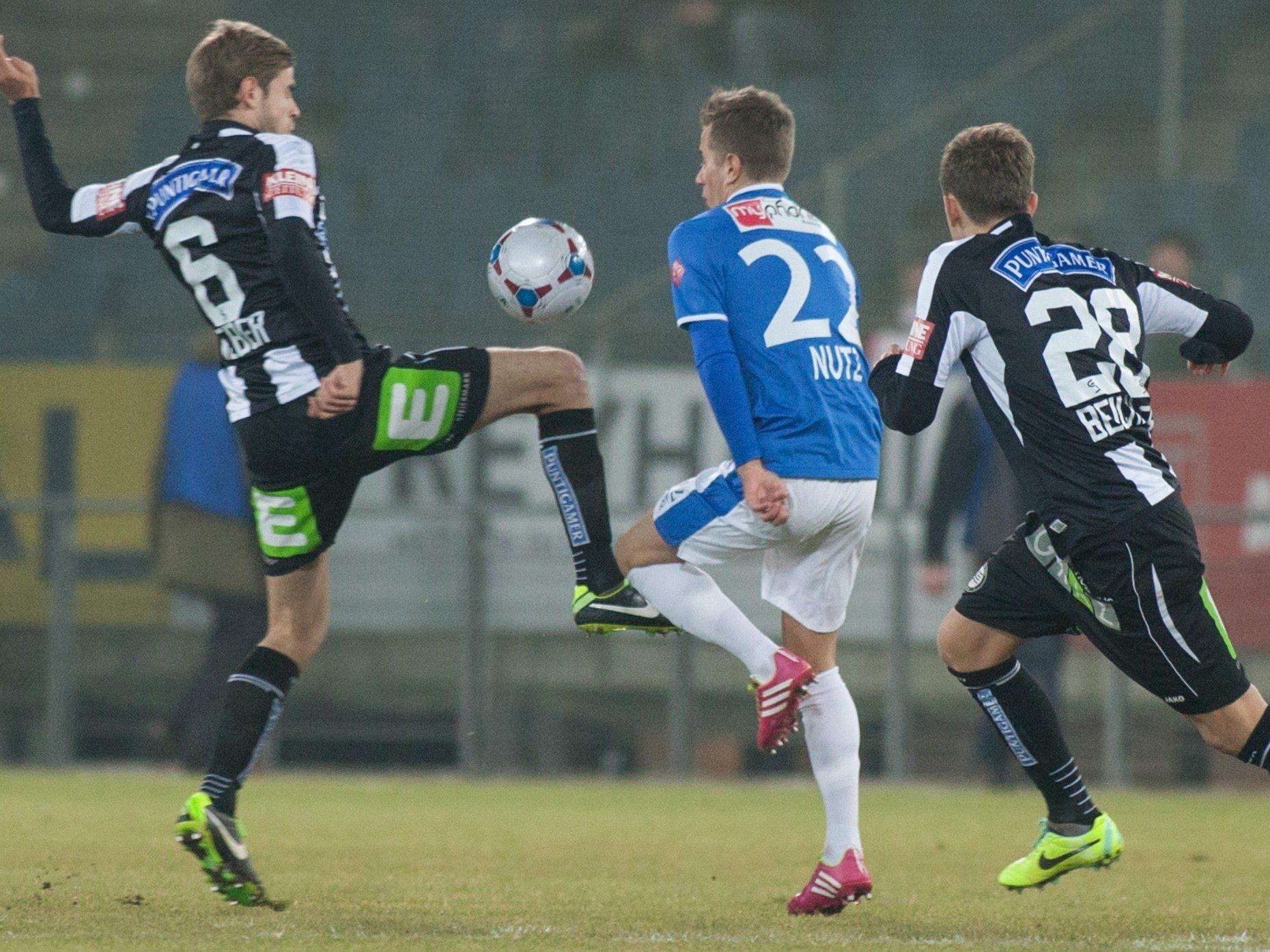LIve-Ticker zum Spiel SV Grödig gegen SK Sturm Graz ab 20.30 Uhr.