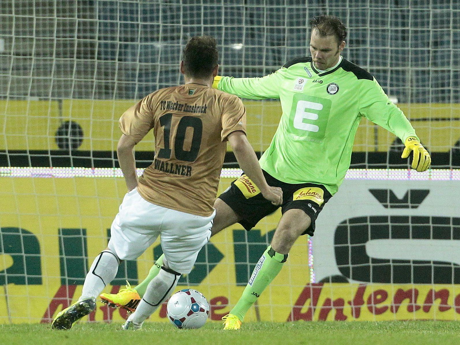LIVE-Ticker zum Spiel SK Sturm Graz gegen FC Wacker Innsbruck ab 19 Uhr.