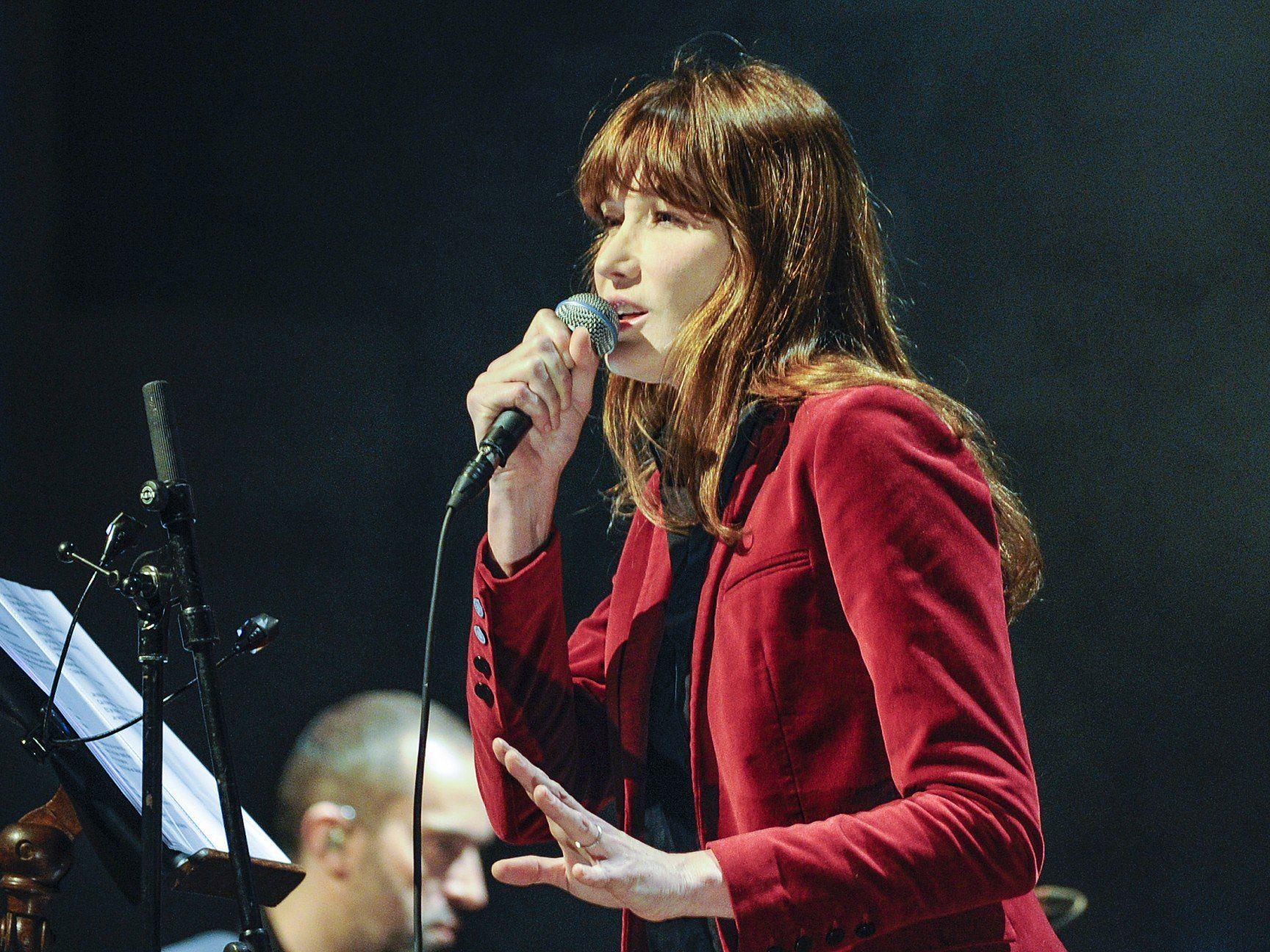 Carla Bruni gastierte live im Wiener Konzerthaus