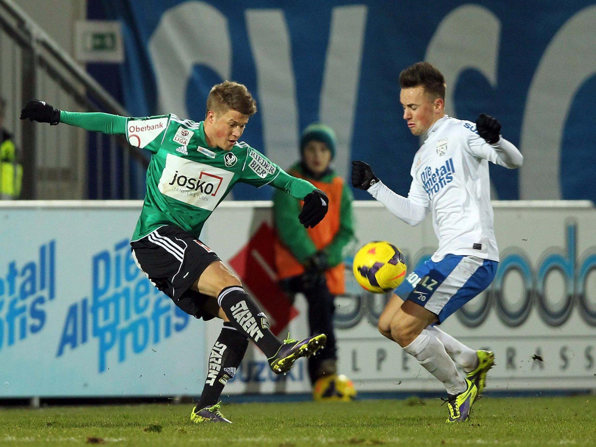 LIVE-Ticker vom Spiel SV Ried gegen SV Grödig ab 19 Uhr.