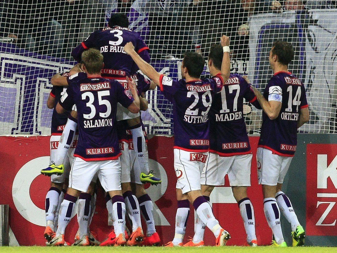 LIVE-Ticker zum Spiel FC Admira Wacker Mödling gegen FK Austria Wien.