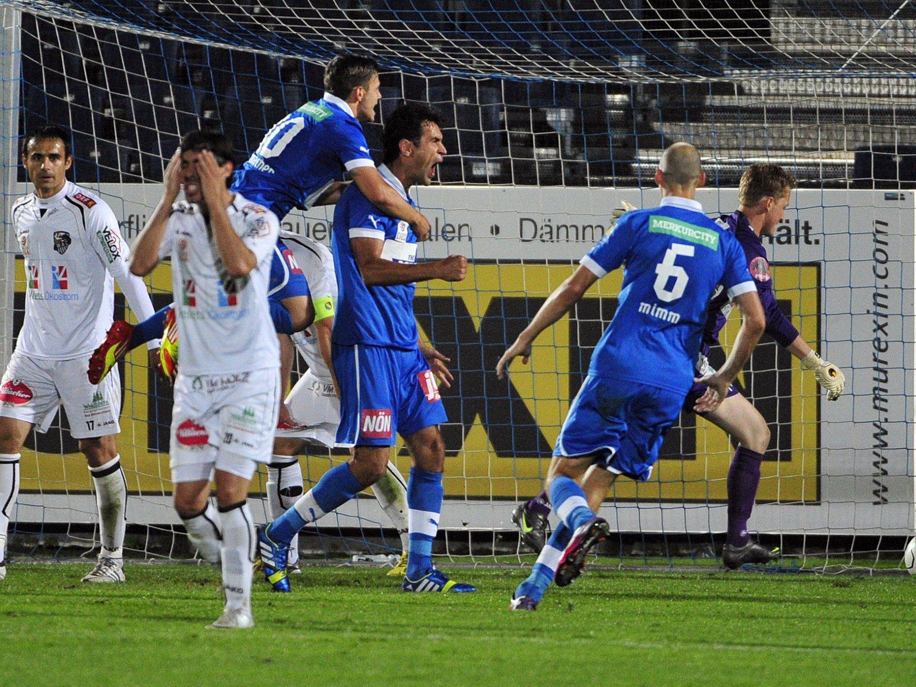 LIVE-Ticker zum Spiel WAC gegen SC Wiener Neustadt ab 19 Uhr.