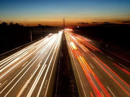 Die A23 ist die kürzeste Autobahn in Österreich.