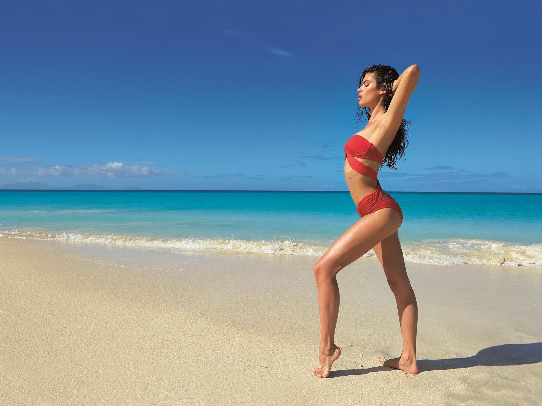 Einige der Bikini-Trends im kommenden Sommer.
