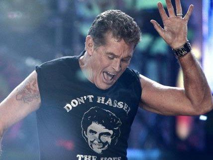 Heavy-Metal-Fan David Hasselhoff will am Nova Rock auftreten