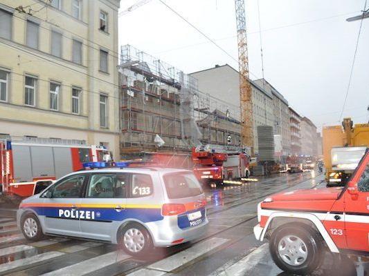Der Einsatz auf der Laxenburger Straße