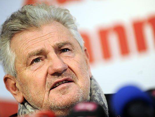 Andreas Mölzer, umstrittener FPÖ-Kandidat für die EU-Wahl