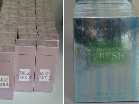 Diese Parfums hatte der Betrüger bei sich