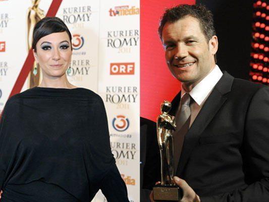 Ursula Strauss durfte sich bereits 2011 über eine Romy freuen, Armin Assinger 2013. Beide sind wieder nominiert