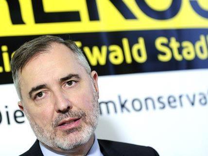 Ewald Stadler fand in Wien klare Worte