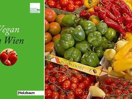"""Das Buch """"Vegan in Wien"""" gibt es drei Mal zu gewinnen"""