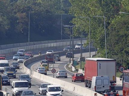 Die Arbeiten auf der A23 am Laaerberg sind abgeschlossen.