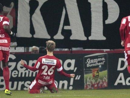 Wacker Innsbruck empfängt die Admira im Spiel der letzten Chance.