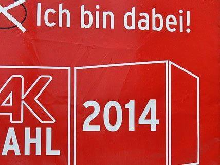 Die AK-Wahlen starten in Wien.