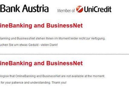 bankaustria online banking