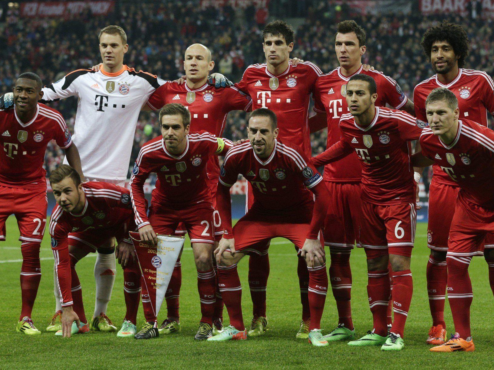 Bayern München muss im CL-Rückspiel gegen ManU auf einen ganzen Fanblock verzichten.