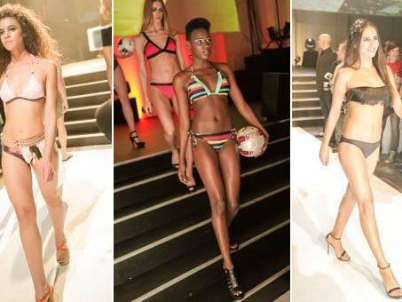 Die neuen Modetrends wurden während der Spartmagazin Bikinigala in Wien präsentiert.