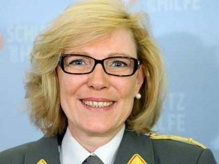 """Andrea Leitgeb ist die erste """"Frau Brigadier""""."""