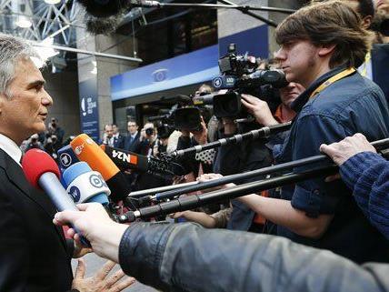 Bundeskanzler Werner Faymann bietet Wien als Verhandlungsort an.