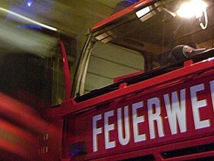 Feuerwehreinsatz in Wien-Döbling am Samstag.