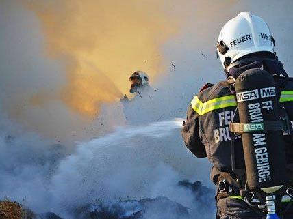 Die niederösterreichische Feuerwehr im Einsatz.