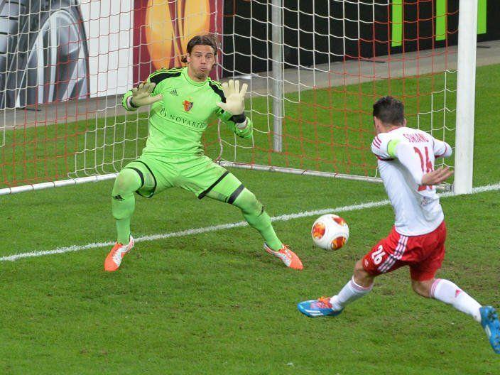 Soriano mit dem Führungstreffer