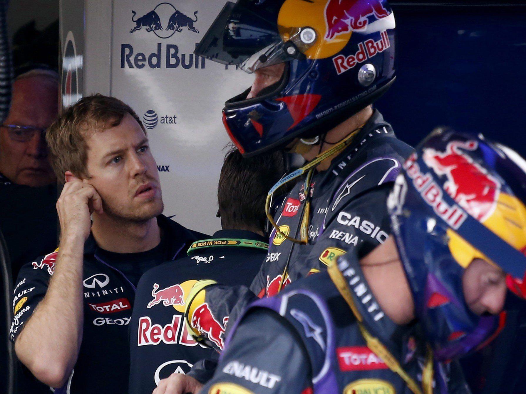 """Vettel: Sound """"wie Staubsauger""""."""