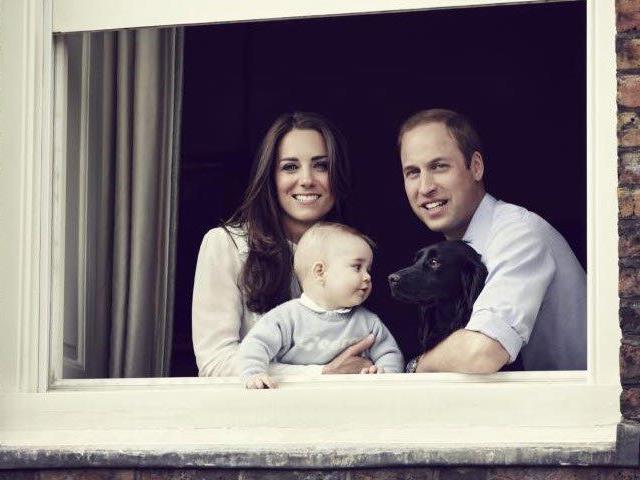 Prinz George ist mittlerweile acht Monate alt