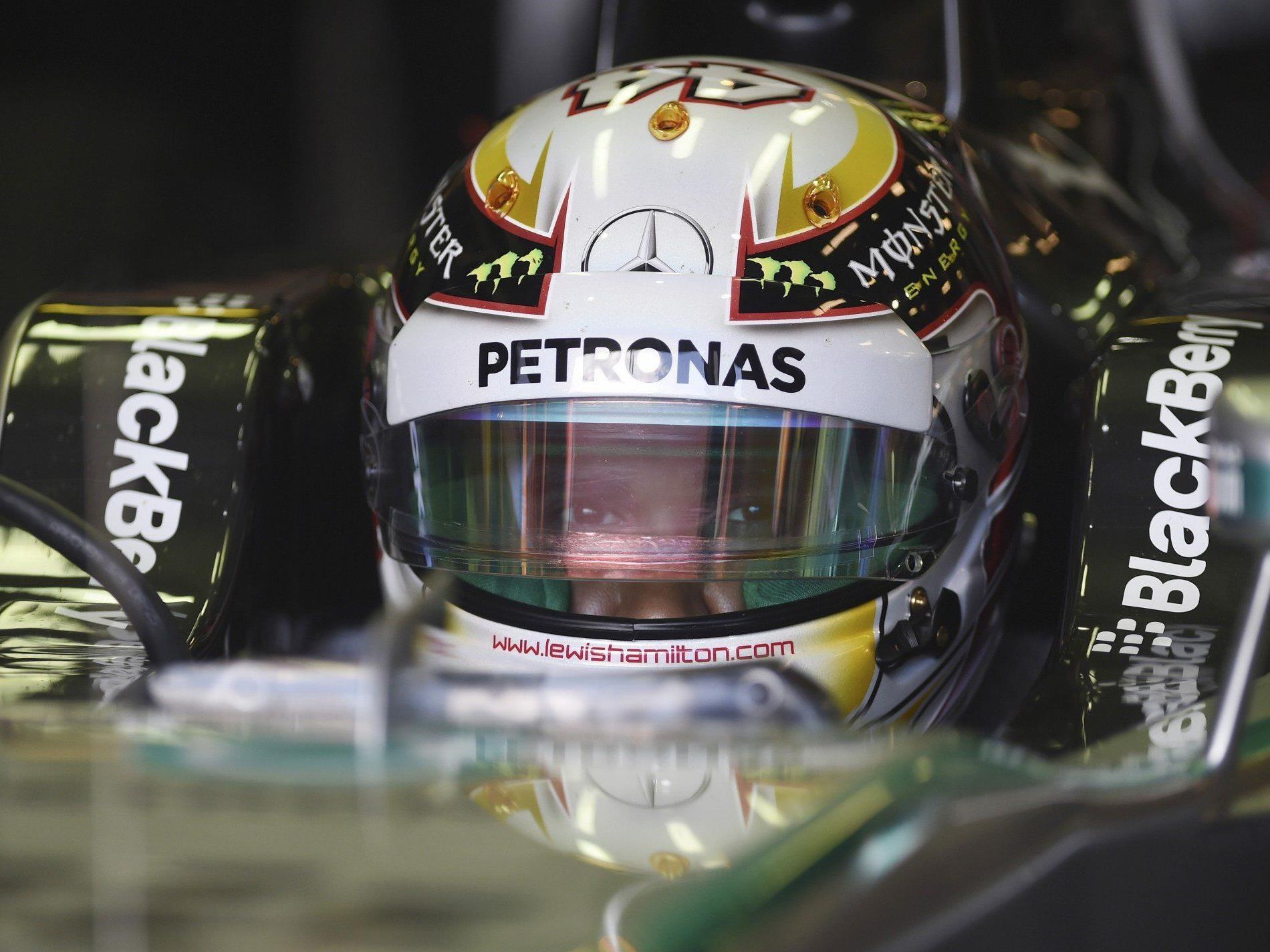 Mercedes im ersten Saisonrennen klarer Favorit.