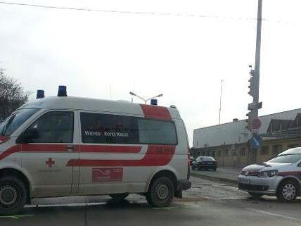 Unfall am Sonntag in Wien-Favoriten.
