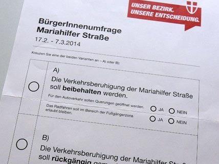 Bis zum 7. März müssen die Stimmzettel der MaHü-Befragung retourniert werden.