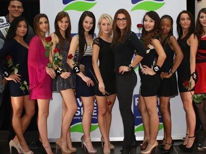 Diese Kandidatinnen treten bei der Wahl zur Miss Vienna 2014 an.