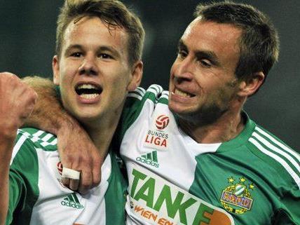 """Fußball: Rapid plant auch gegen """"Angstgegner"""" WAC drei Punkte ein:"""