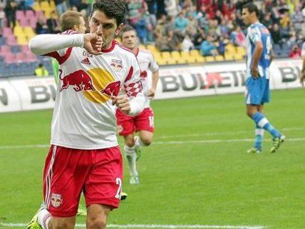 Red Bull Salzburg will gegen den SC Wiener Neustadt ihren achten Meistertitel einfahren.