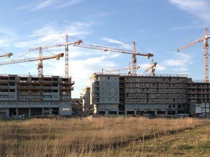 Die Seestadt Aspern wächst.
