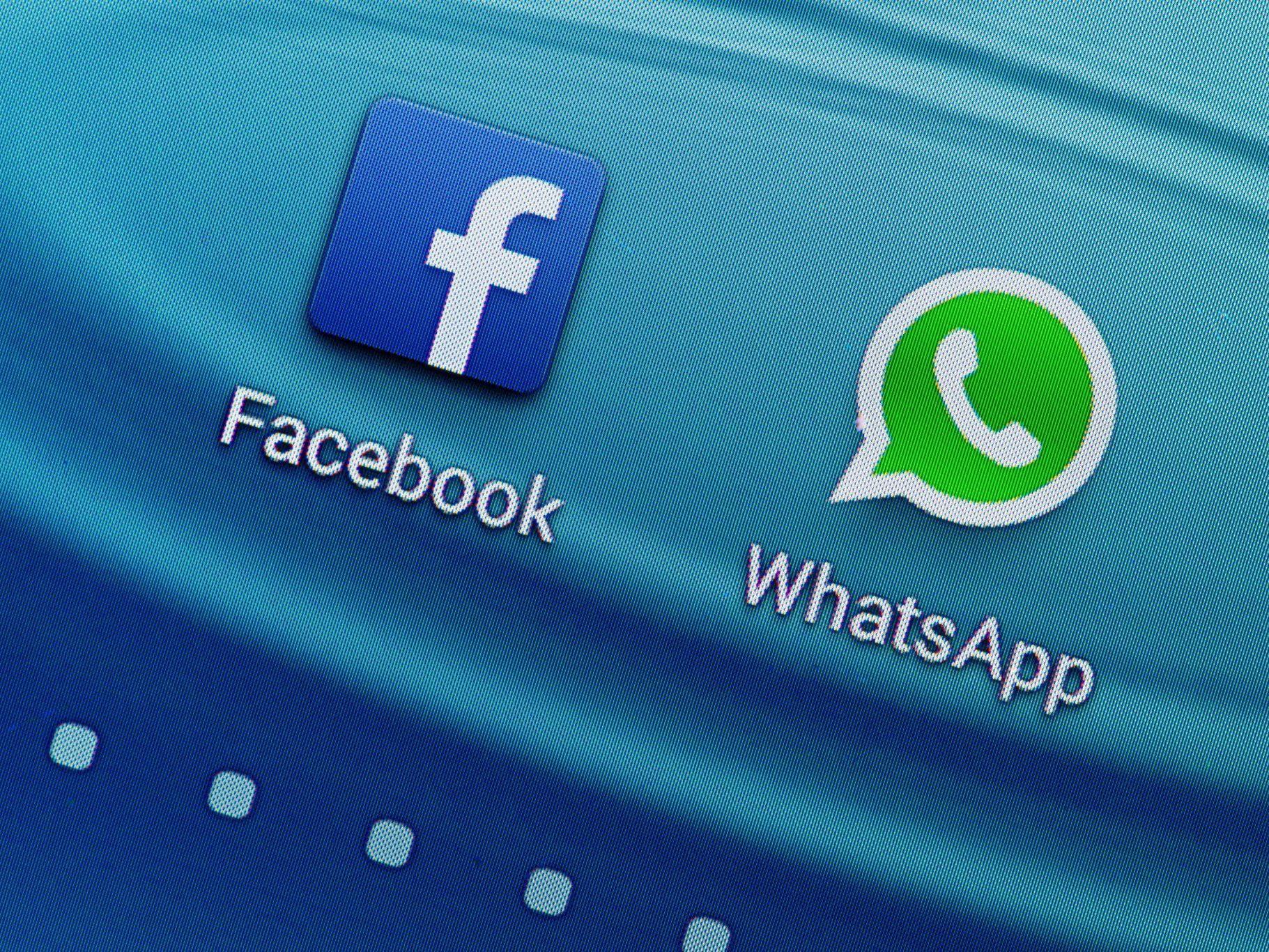 Der erste Schritt zur Verknüpfung von WhatsApp und Facebook ist gemacht.